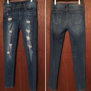 Denim - Distressed Judy Blue denim jeans